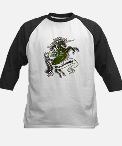 MacDonald Unicorn Kids Baseball Jersey