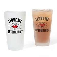 I love my Optometrist Drinking Glass