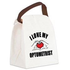 I love my Optometrist Canvas Lunch Bag