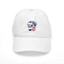 Costa Rican American Baby Baseball Cap