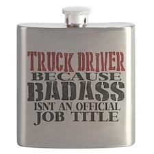 Badass Trucker Flask
