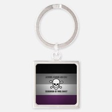 Asexual Pirates Keychains