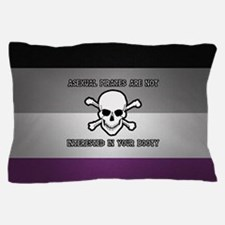 Asexual Pirates Pillow Case