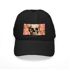 Vintage Rosa Skull Collage Baseball Hat