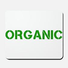 organic stencil Mousepad