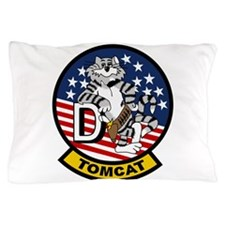 Tomcat fighter jet Pillow Case