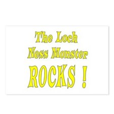 Loch Ness - Yellow Postcards (Package of 8)
