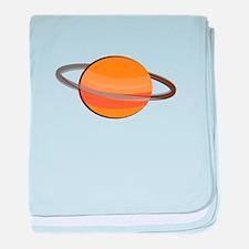 Saturn Planet baby blanket