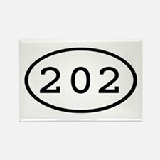 202 Oval Rectangle Magnet