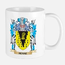 Henne Coat of Arms - Family Crest Mugs