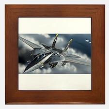 Cute Aircraft Framed Tile