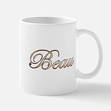 Gold Beau Mugs