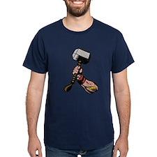 Marvel Comics Thor Hammer Retro T-Shirt