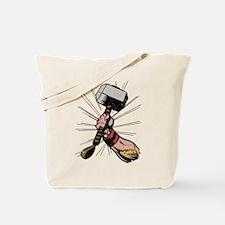 Marvel Comics Thor Hammer Retro Tote Bag