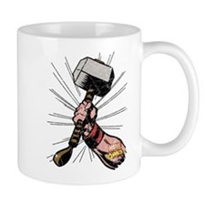 Marvel Comics Thor Hammer Retro Mug