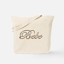 Cute Bebe Tote Bag