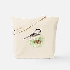 Chickadee Pine.png Tote Bag