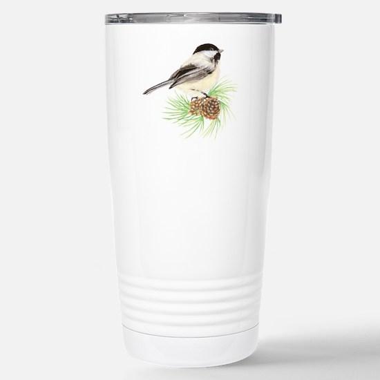 Chickadee Pine.png Travel Mug