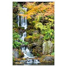 Portland Japanese Garden, Portland, Oregon Poster