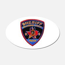 Williamson Sheriff K9 Wall Decal