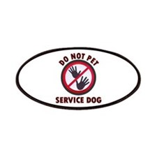 Service Dog Dnt Patches