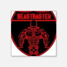 Beastmaster by Hargis Muscle Sticker