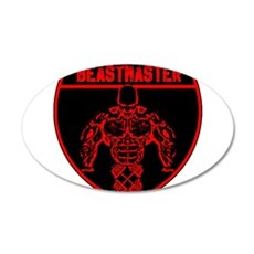 Beastmaster by Hargis Muscle Wall Decal