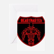 Beastmaster by Hargis Muscle Greeting Cards