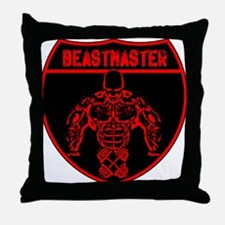 Beastmaster by Hargis Muscle Throw Pillow