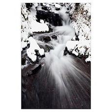 Wahkeena Falls, Columbia River Gorge National Scen Poster