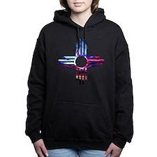 Unique Zia Women's Hooded Sweatshirt