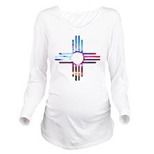 Unique Pueblo Long Sleeve Maternity T-Shirt