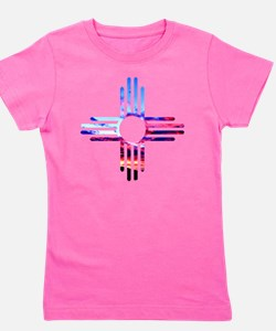 Cute Zia Girl's Tee