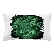 Unique Zombie on board Pillow Case