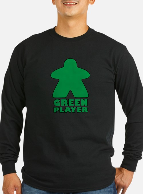 Green Player Long Sleeve T-Shirt