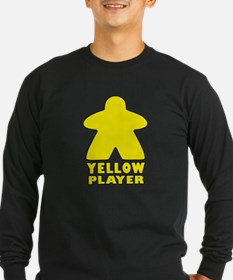 Yellow Player Long Sleeve T-Shirt