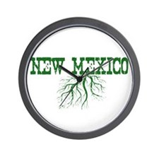 New Mexico Roots Wall Clock