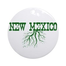 New Mexico Roots Ornament (Round)