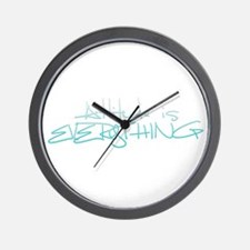 Funny Inspirational quotes Wall Clock