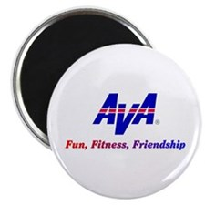 AVA Fun, Fitness, Friendship Magnets
