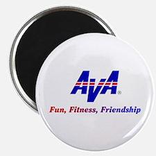 AVA Fun, Fitness, Friendship Magnets