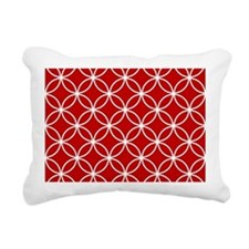Funny Red Rectangular Canvas Pillow