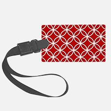 Cute Red Luggage Tag