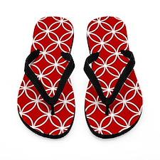 Unique Red Flip Flops