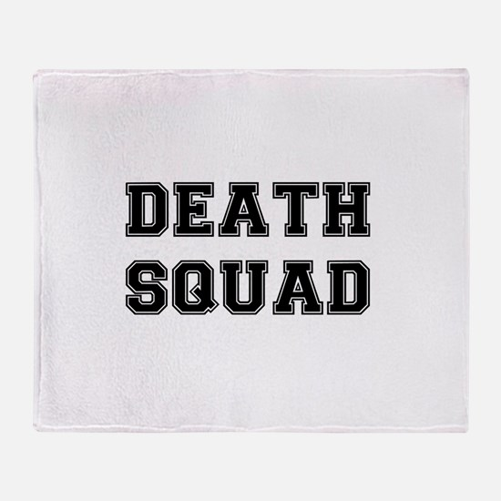 DEATH SQUAD! Throw Blanket
