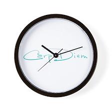 Funny Carpe diem Wall Clock
