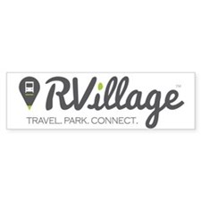 Rvillage Bumper Bumper Sticker