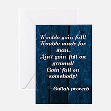 Gullah Proverb Greeting Cards