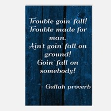 Gullah Proverb Postcards (package Of 8)