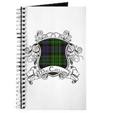 MacCallum Tartan Shield Journal